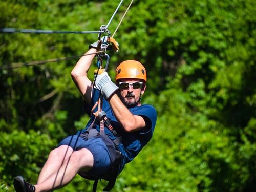 Roatan Honduras jungle canopy zipline Excursion Booking