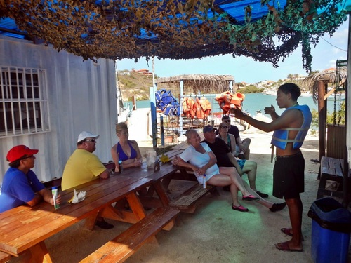 Curacao guided snorkeling Cruise Excursion Cost