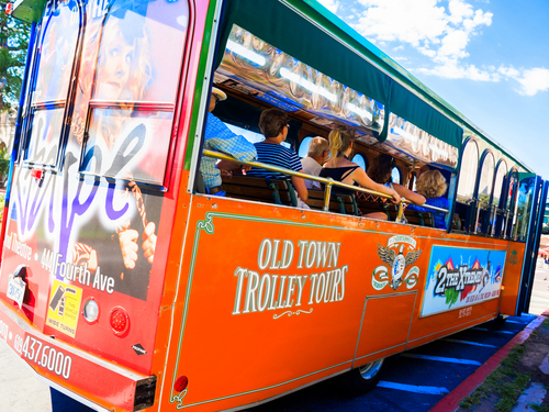 San Diego Seaport Village trolley Excursion Tickets