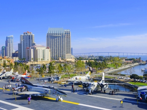 San Diego USS Midway  Musseum Tour Reviews