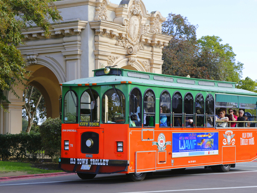 San Diego  California San Diego Zoo trolley Trip Tickets