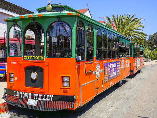 San Diego  California Historic Gaslamp Quarter trolley Excursion Booking