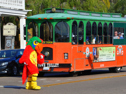 San Diego  California Old Town trolley Cruise Excursion Reviews