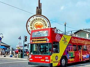 San Francisco City Hop On Hop Off Bus Sightseeing Excursion