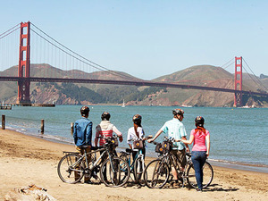 San Francisco Golden Gate to Sausalito Guided Bike Excursion