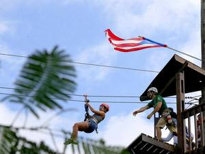 San Juan Canopy and Zipline Excursion Adventure