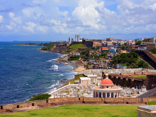 San Juan Puerto Rico El Morro Fort Walking Excursion Reservations