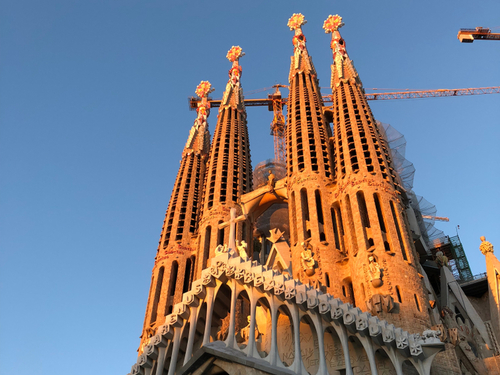 Barcelona Sacred Family Sightseeing Trip Booking
