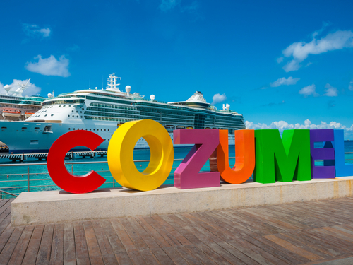 Cozumel  Mexico informative driver/guide Tickets