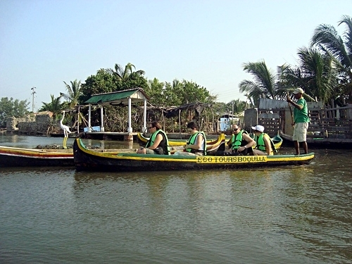 Cartagena  Colombia mangroves Cruise Excursion