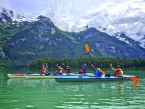 Skagway Chilkoot Lake Kayaking Excursion at State Park in Haines