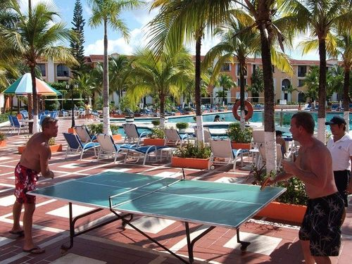 Cozumel  Mexico beach and pool area Cost