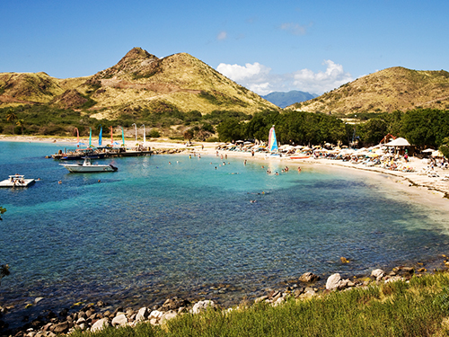 St. Kitts  Basseterre Sandy Beach Sightseeing Excursion Booking