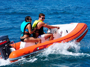 St. Kitts Mini Speed Boat and Snorkel Excursion