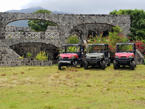 St. Kitts  Basseterre Brimstone Hill Fortress UTV Tour Tickets