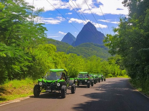 St. Lucia (Castries) Toraille Waterfall Tour Tickets