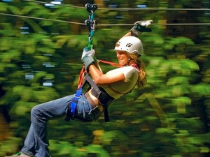 St. Lucia Catamaran Sailing and Zip Line Adventure Excursion