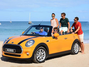 St. Lucia Convertible Mini Cooper North Island Sightseeing Excursion