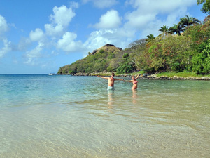 St. Lucia Pigeon Island Beach Break Day Pass Excursion
