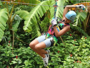 St. Lucia Rainforest Adventure Canopy Zip Line Excursion