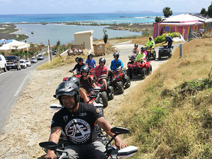 St. Maarten ATV Island Highlights and Beach Break Excursion