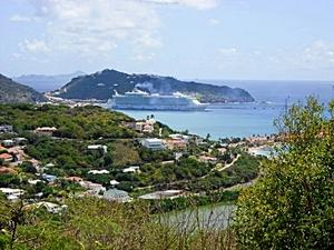 St Maarten Cross the Border Island Hike Excursion