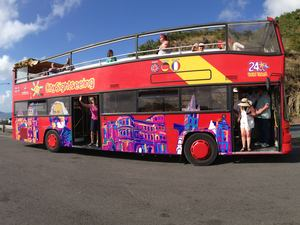 St. Maarten Open Air Double Decker Sightseeing Bus Excursion