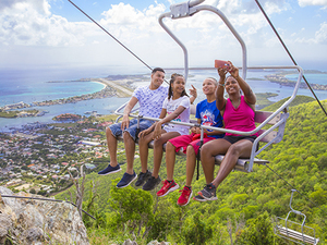 St. Maarten Sky Explorer and Museum Excursion