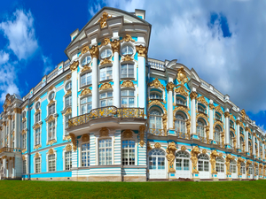 St. Petersburg Private Catherine Palace Small Group Excursion