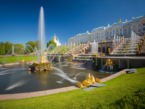 St. Petersburg Small Group Peterhof Fountains, Catherine Palace, Hermitage Museum and Peter Paul Cathedral Excursion