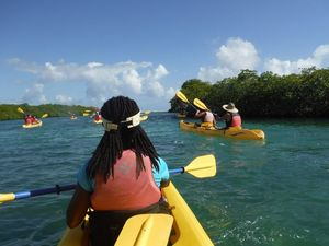 St. Thomas Emerald Beach Kayak Excursion for Beginners