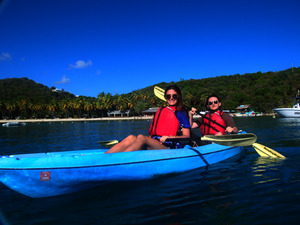 St. Thomas Kayak, Turtle Snorkel, Beach and Lunch Excursion