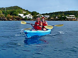 St. Thomas Lindbergh Bay Beach Ocean Kayak and Snorkel Excursion