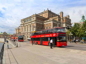 Stockholm Hop On Hop Off City Sightseeing Bus Excursion