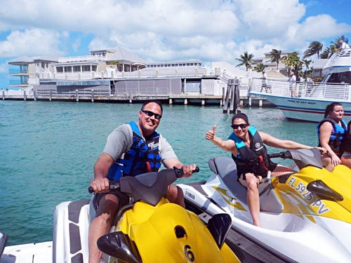 Key West wave runner Cruise Excursion Reservations