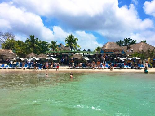 Cozumel Carlos Charlie Beach day package excursion