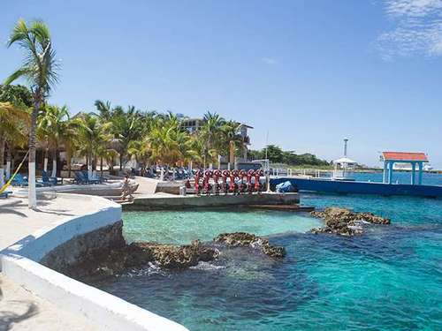 Cozumel  Mexico largest resort swimming pool Cost