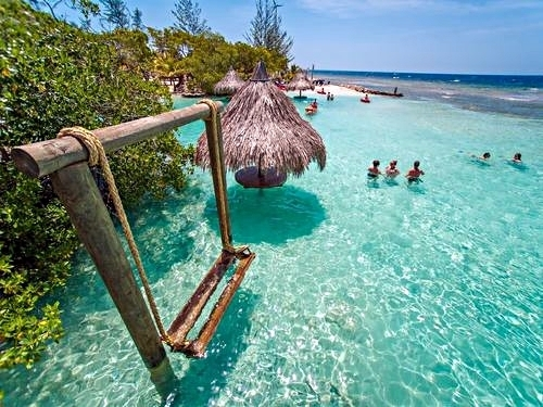 Roatan Honduras private island day pass Tour Reservations