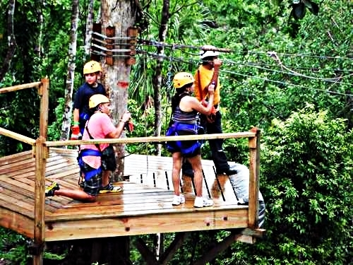 Belize City atv and zip line Trip Reservations