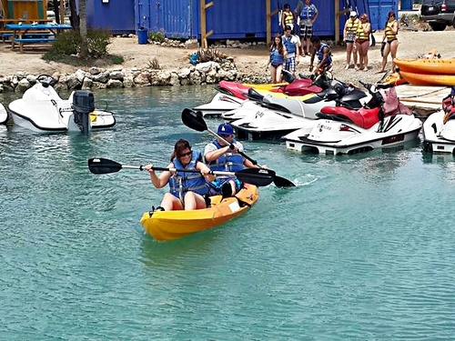 Curacao Willemstad kayaking Cruise Excursion Cost