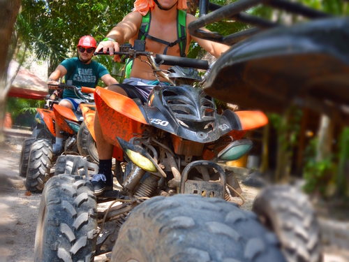 Cozumel All terrain vehicle Cruise Excursion Cost