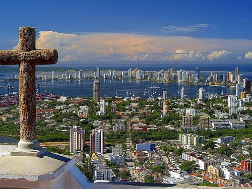 Cartagena  Colombia historic landmarks Cruise Excursion