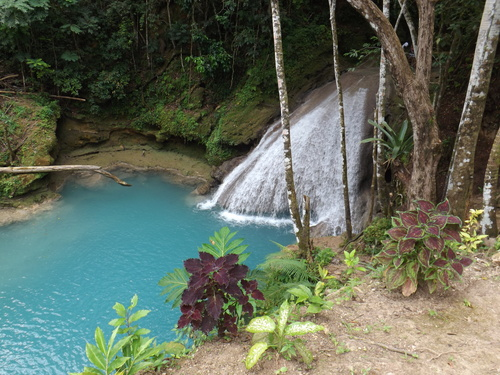 Montego Bay waterfall climb Cruise Excursion