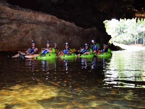 Belize City cave tubing Excursion Booking