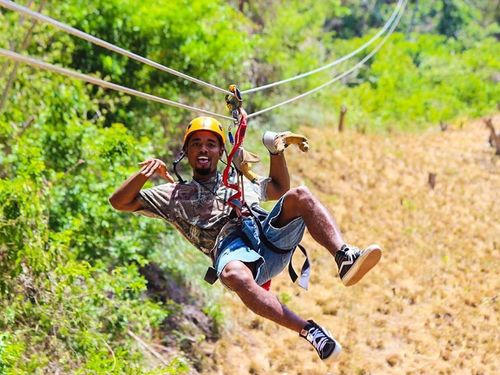 Roatan zip line Excursion Tickets