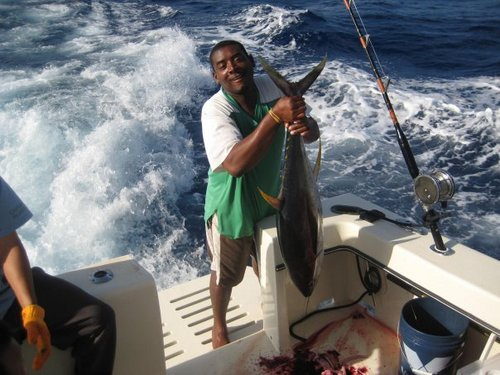 Grand Cayman  Grand Cayman (George Town) reef fishing Booking