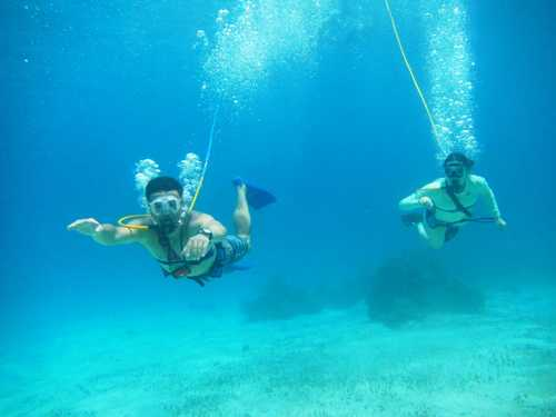 Cozumel Mexico SNUBA Diving and Snorkel Chankanaab Beach Shore Excursions Booking