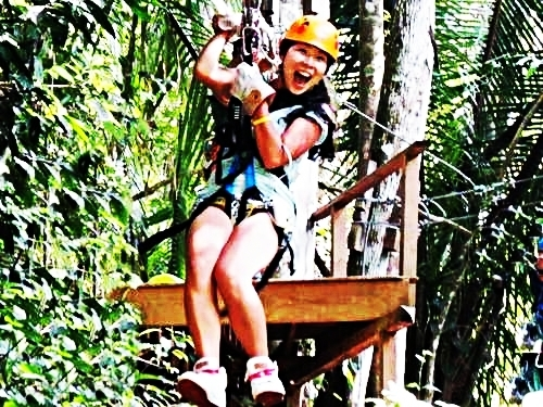 Belize atv and zip line Cruise Excursion Prices