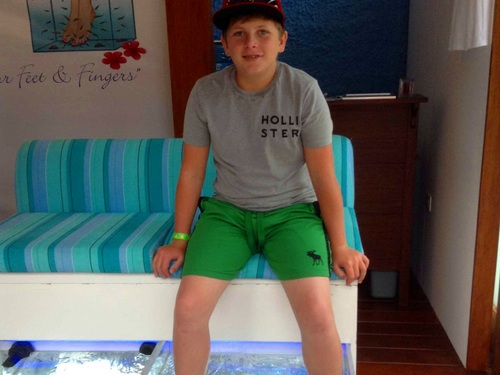 Cozumel Island fish spa Tour Reservations