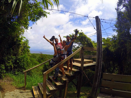 Roatan Honduras ziplining Excursion Booking